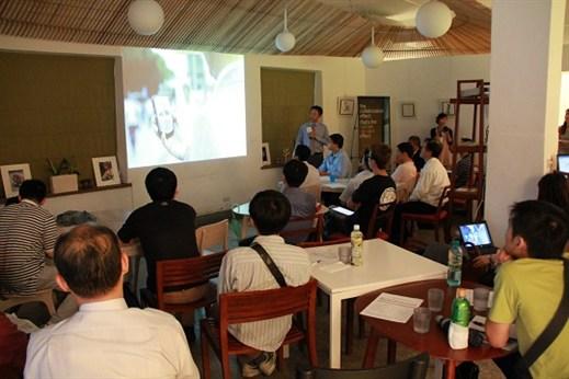 華山文創園區網路研討會下午茶