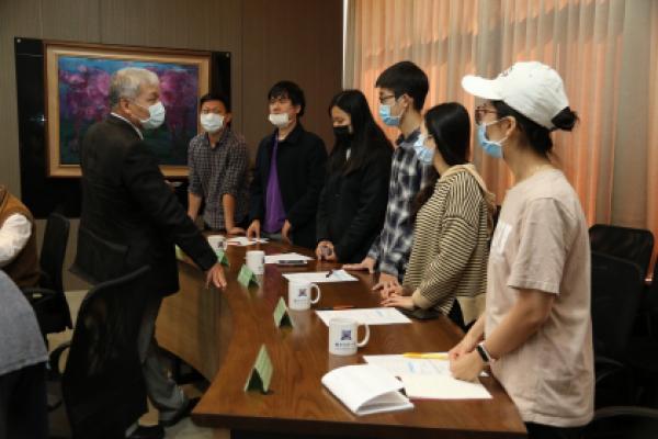 越南駐台北經濟文化辦事處蒞臨中興大學拜訪-人才培育