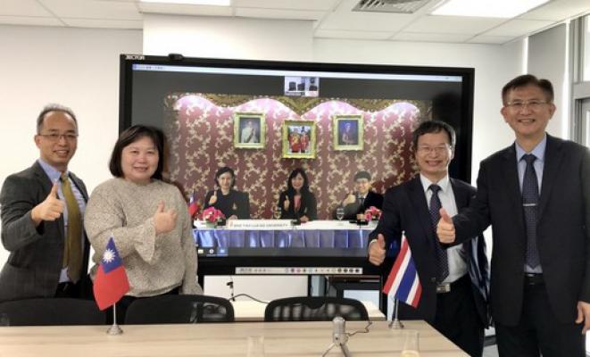 應用國際合作 中國醫藥大學和泰國皇太后大學簽署磨課師課程-中國醫藥大學