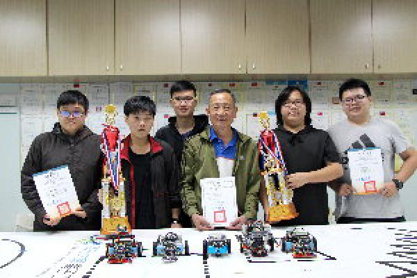 全國機器人競賽   義守大學「電子系」勇奪冠、亞軍
