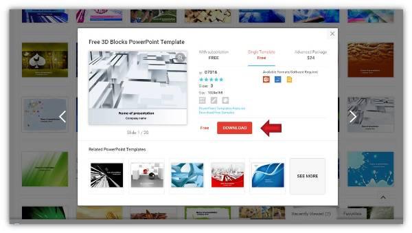 簡報、圖表、印刷文宣,無料模板免費下載-Google簡報模板