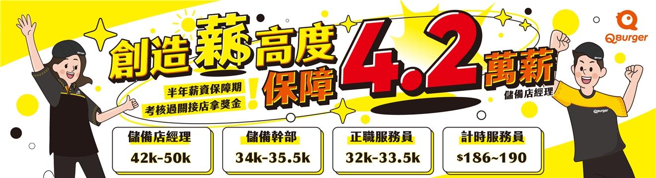找工作Q Burger_饗樂餐飲實業有限公司